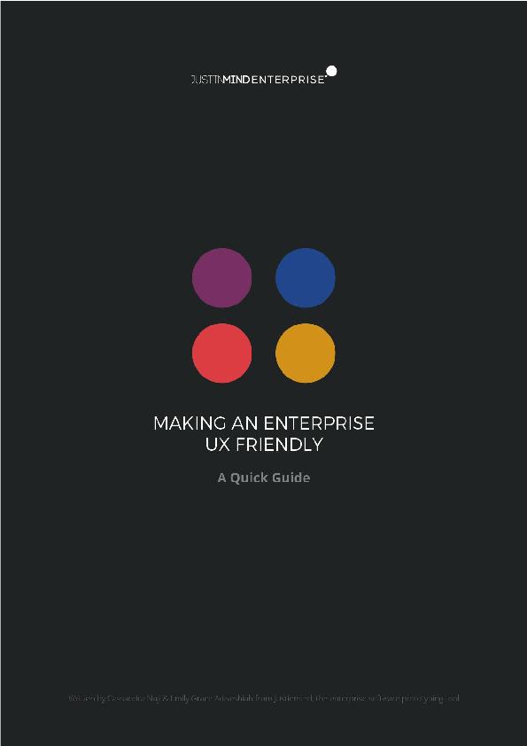 PDF) Making an Enterprise UX-Friendly - Free Justinmind eBook.pdf ...