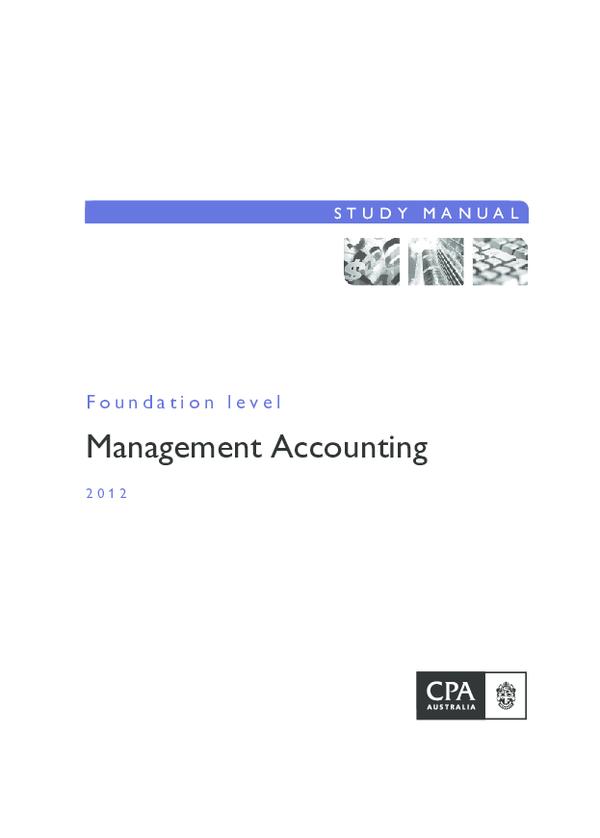 PDF) study-manual-management-accounting.pdf | Tran Nghia ...