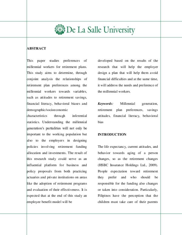 PDF) DLSU Research(Final) | Donna Mae Butac - Academia edu