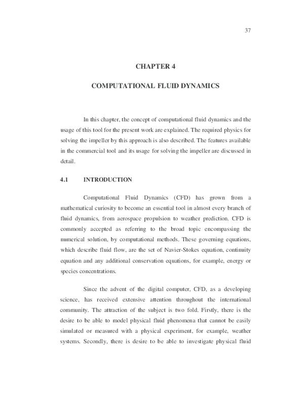 PDF) COMPUTATIONAL FLUID DYNAMICS | Nani Madhu - Academia edu