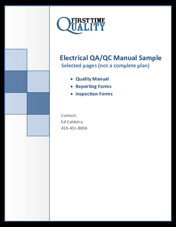 electrical qa qc plan wiring diagram rh rs99 lucia umami de