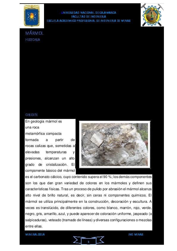 Doc Marmol Historia Juancarlos Llanos Perez Academia Edu