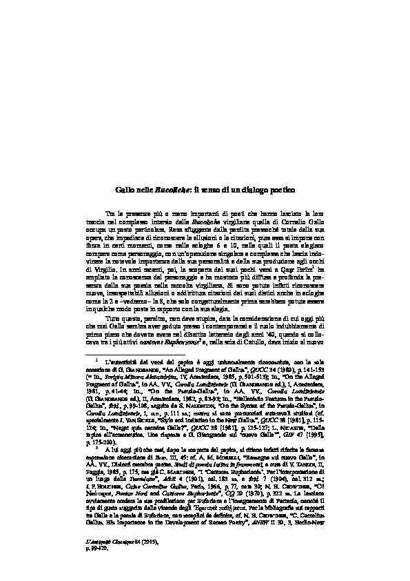 Gallo denti datazione