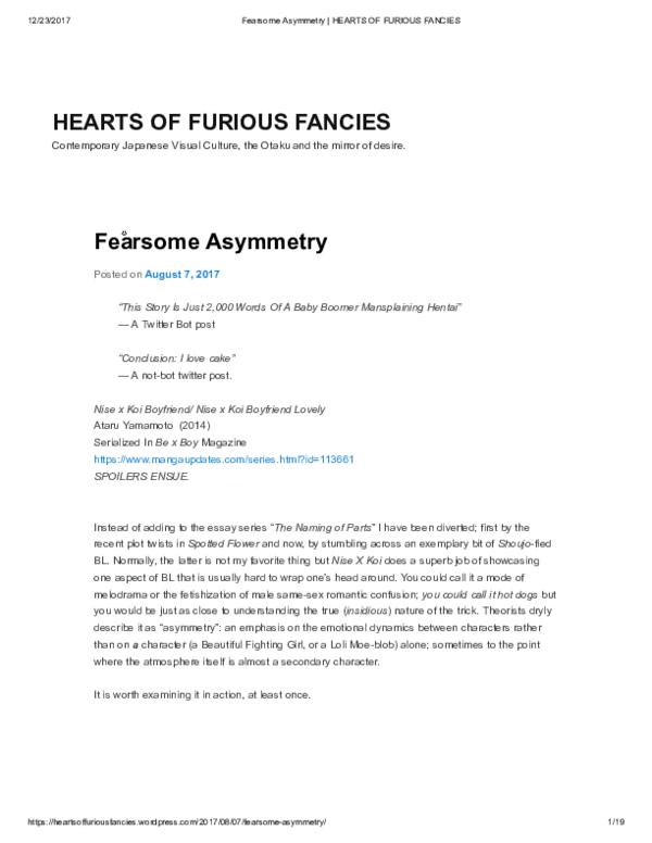 PDF) Fearsome Asymmetry   Muda Kun - Academia edu