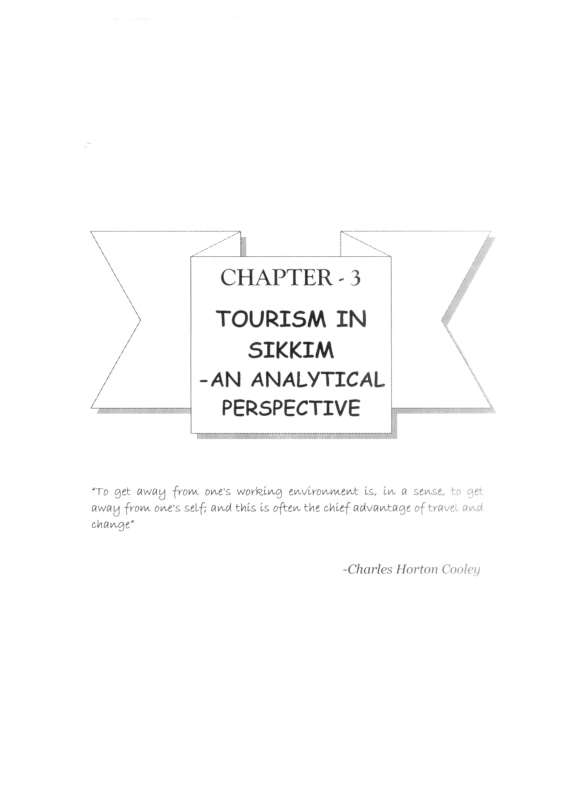 PDF) CH A PTER -3 TOURISM IN SIKKIM -AN ANALYTICAL