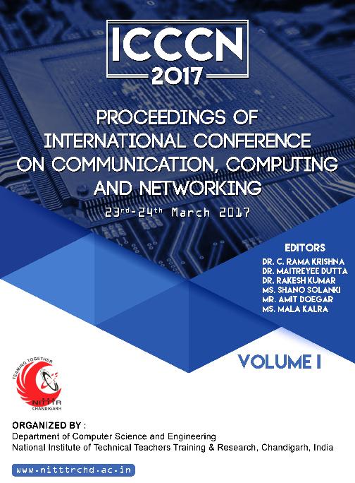 PDF) ICCCN-2017-PROCEEDINGS OF INTERNATIONAL CONFERENCE ON