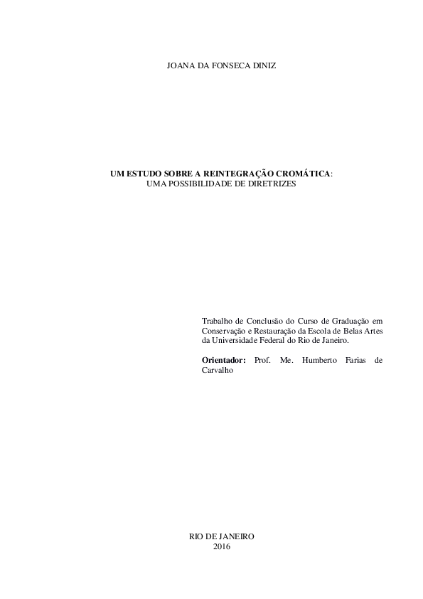 3aa2076f0 PDF) Um estudo sobre a reintegração cromática: uma possibilidade de ...