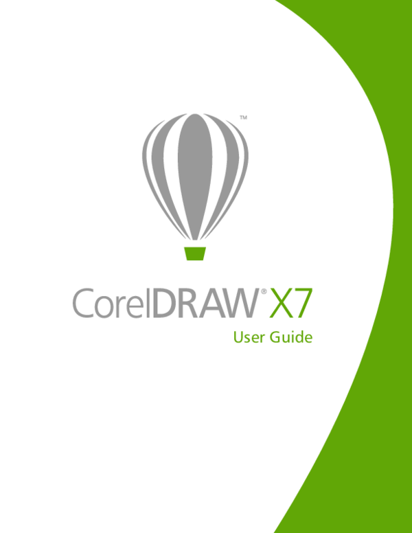 PDF) Corel Draw X7 User Guid | Musa Mazaje - Academia edu