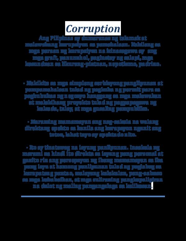 DOC) Corruption | Senpai Daisuki - Academia edu