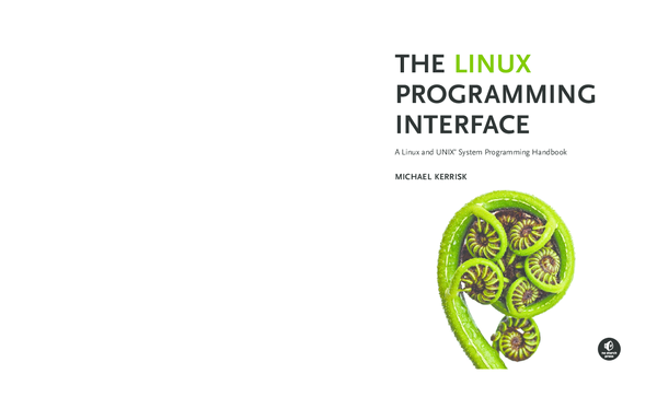 PDF) The Linux Programming inTerface A Linux and UNIX ® System