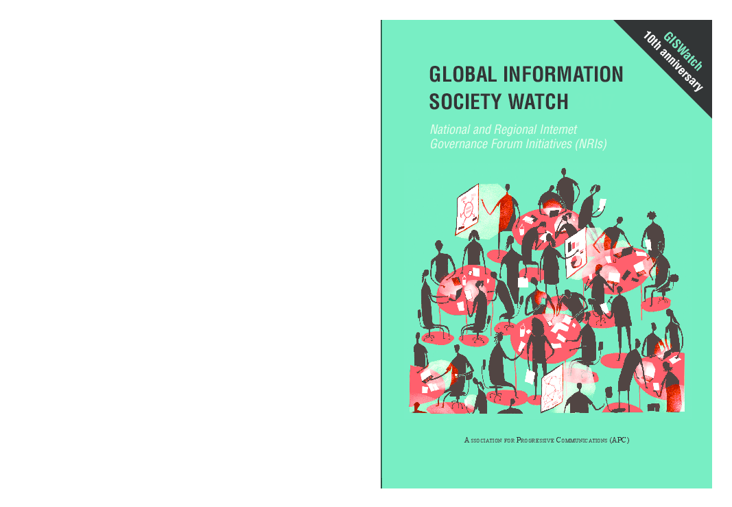 PDF) Global Information Society Watch 2017 - National and