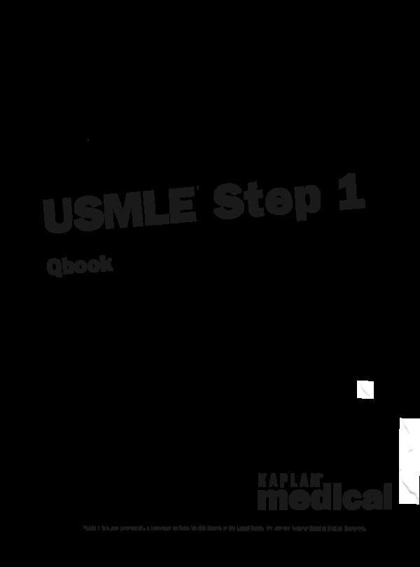 PDF) USMLE'step 1 | Hà Nguyễn - Academia edu