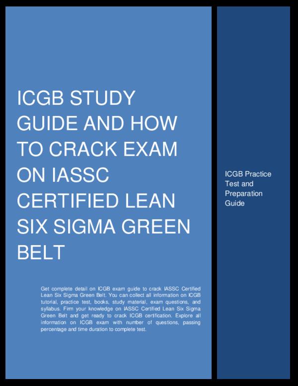 Six Sigma Green Belt Body Of Knowledge Pdf