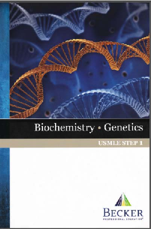 PDF) Becker's USMLE Step 1 - Lecture NotesBiochemistry