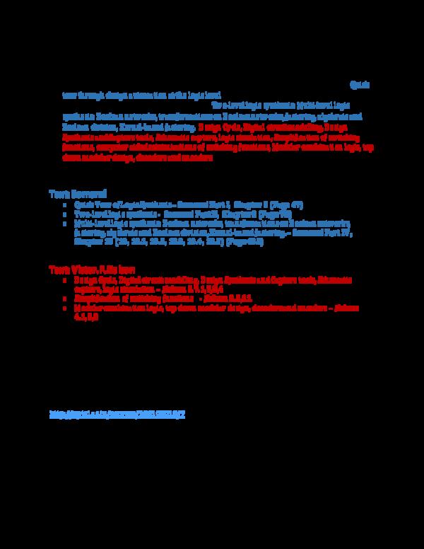 PDF) Electronic Design Automation Tools (EDA Tools) -3 rd