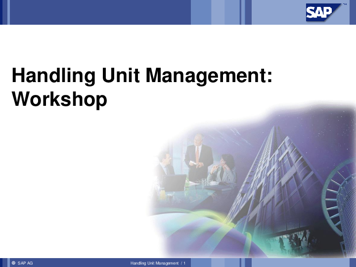 PPT) Handling Unit Management ppt | Soumya Das - Academia edu