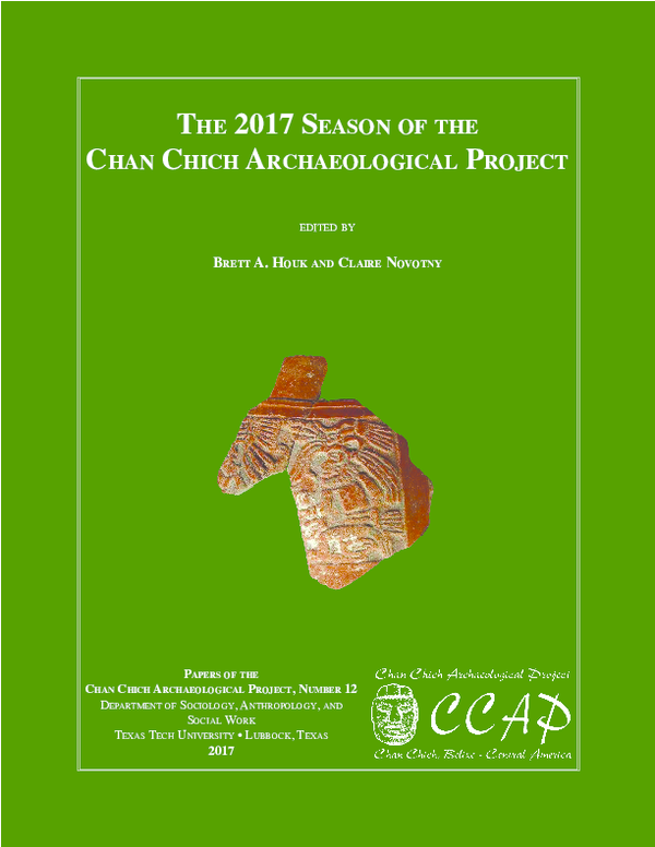PDF) The 2017 SeaSon of The Chan ChiCh arChaeologiCal
