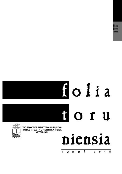 Pdf Folia Toruniensia Vol 15 2015 Folia Toruniensia
