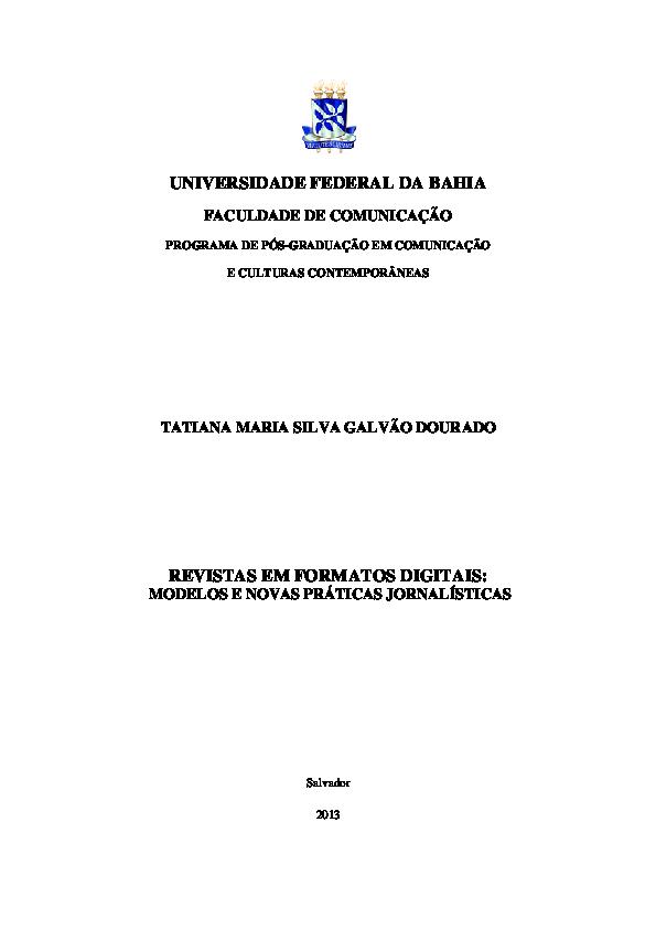 359f4359c PDF) REVISTAS EM FORMATOS DIGITAIS  MODELOS E NOVAS PRÁTICAS ...