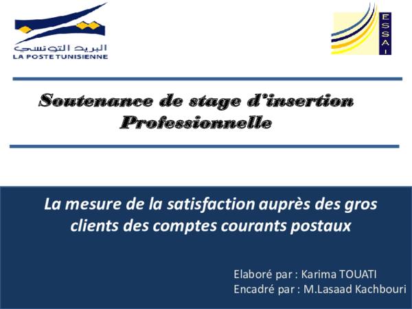 Ppt Soutenance Du Stage D Insertion Professionnelle Onp