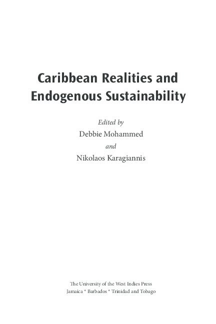 (PDF) Te Caribbean in the Age of Globalization: From ...