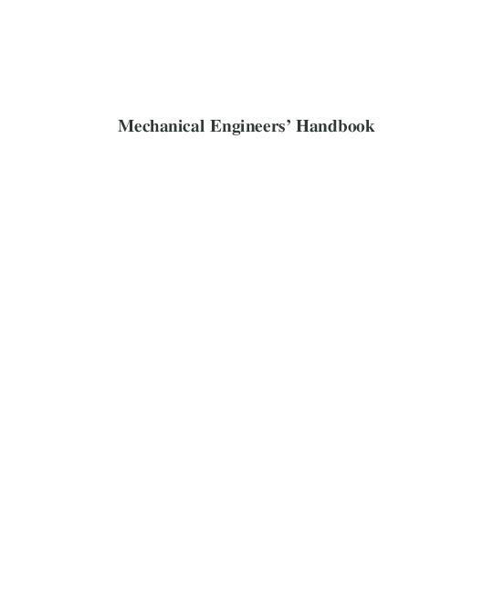 PDF) Mechanical_Engineers_Handbook_Third_Edit.pdf | Ashman Noordin ...