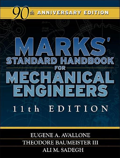 PDF) Marks_Standard_Handbook_for_Mechanical_E.pdf | Ashman Noordin ...