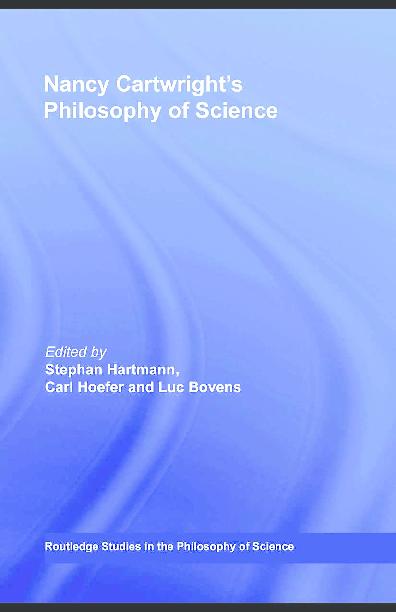 PDF) Nancy Cartwright's Philosophy of Science | Victor