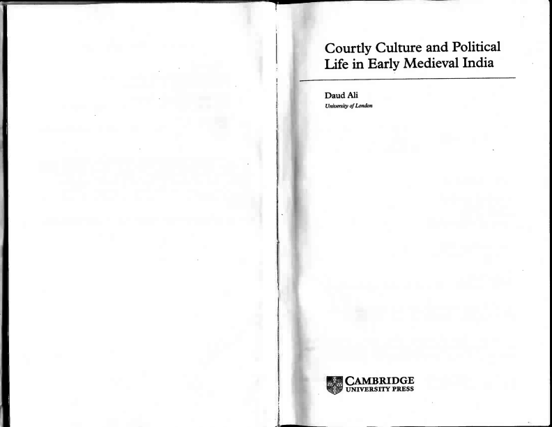 PDF) Courtly Culture and Political Life in Early Medieval