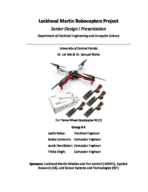 PDF) Lockheed Martin Robocopters Project Senior Design I