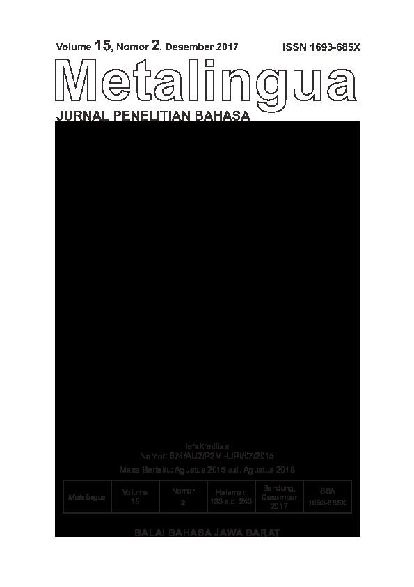 PDF Metalingua Tasia Kartini pdf
