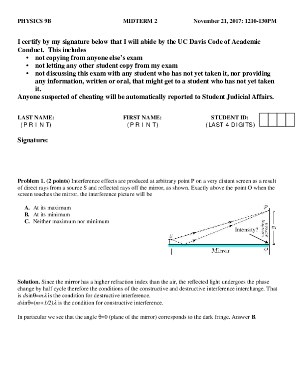 PDF) Midterm2Solution B | Pyi Shan - Academia edu