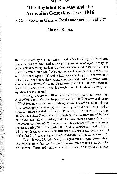 PDF) Kaiser - Baghdad Railway.pdf   Hilmar Kaiser - Academia.edu
