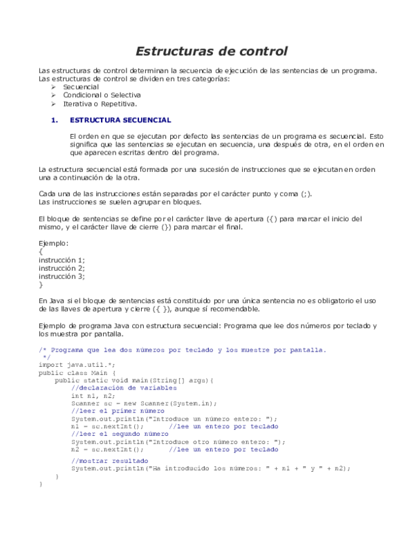 Doc Estructuras De Control Daniel Negrete Academia Edu