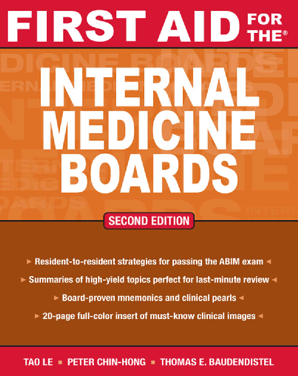 PDF) First Aid for the Internal Medicine Boards(1) pdf