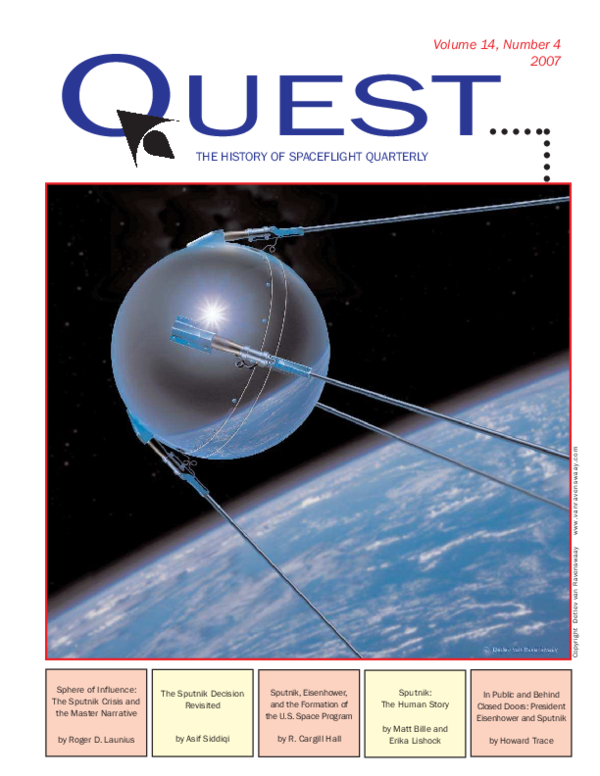 PDF) Sphere of Influence: The Sputnik Crisis and the Master ...