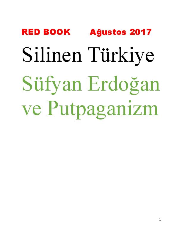 Doc Red Book Silinen Turkiye Agustos 2017 Sufyan Ve