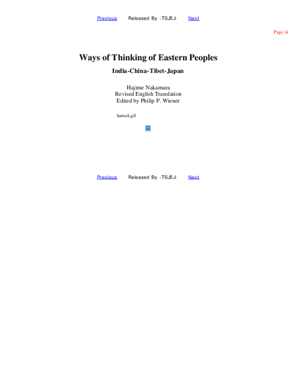 Wainer Academia Of PdfWays PeoplesRobben edu Eastern Thinking rdsQth