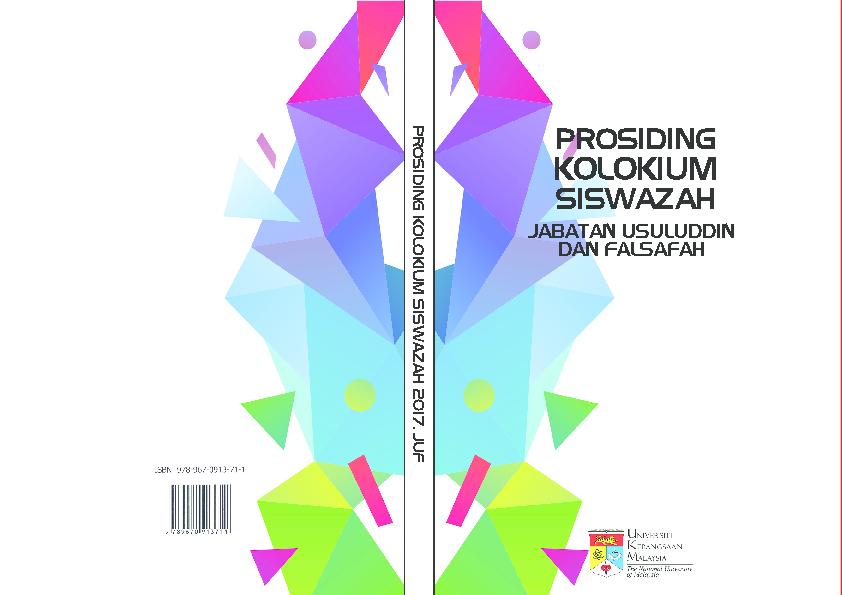 Pdf Prosiding Kolokium Siswazah Juf 2017 Mohd Irfan Mohd Terin
