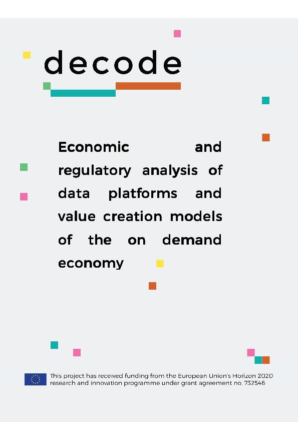 PDF) D2 02_DECODE_Economic&RegulatoryAnalysisOfData pdf | Stefano