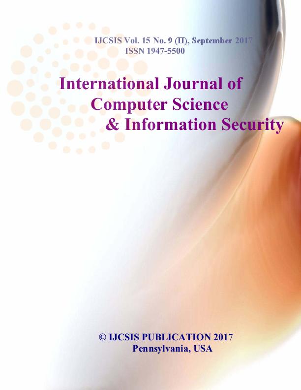 Journal Of Computer Science Ijcsis September 2017 Part Iipdf