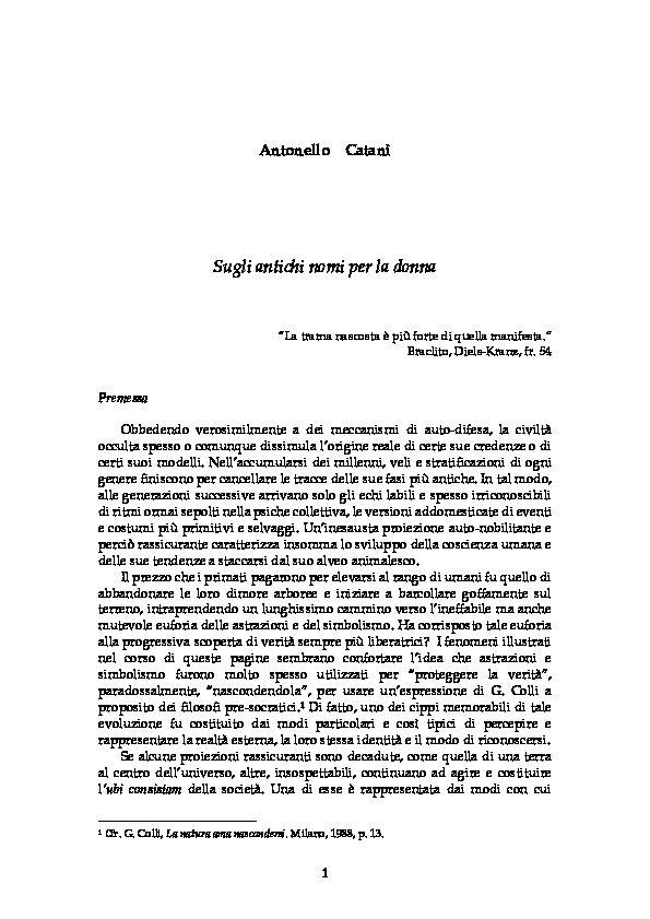 Datazione Taurus femminile