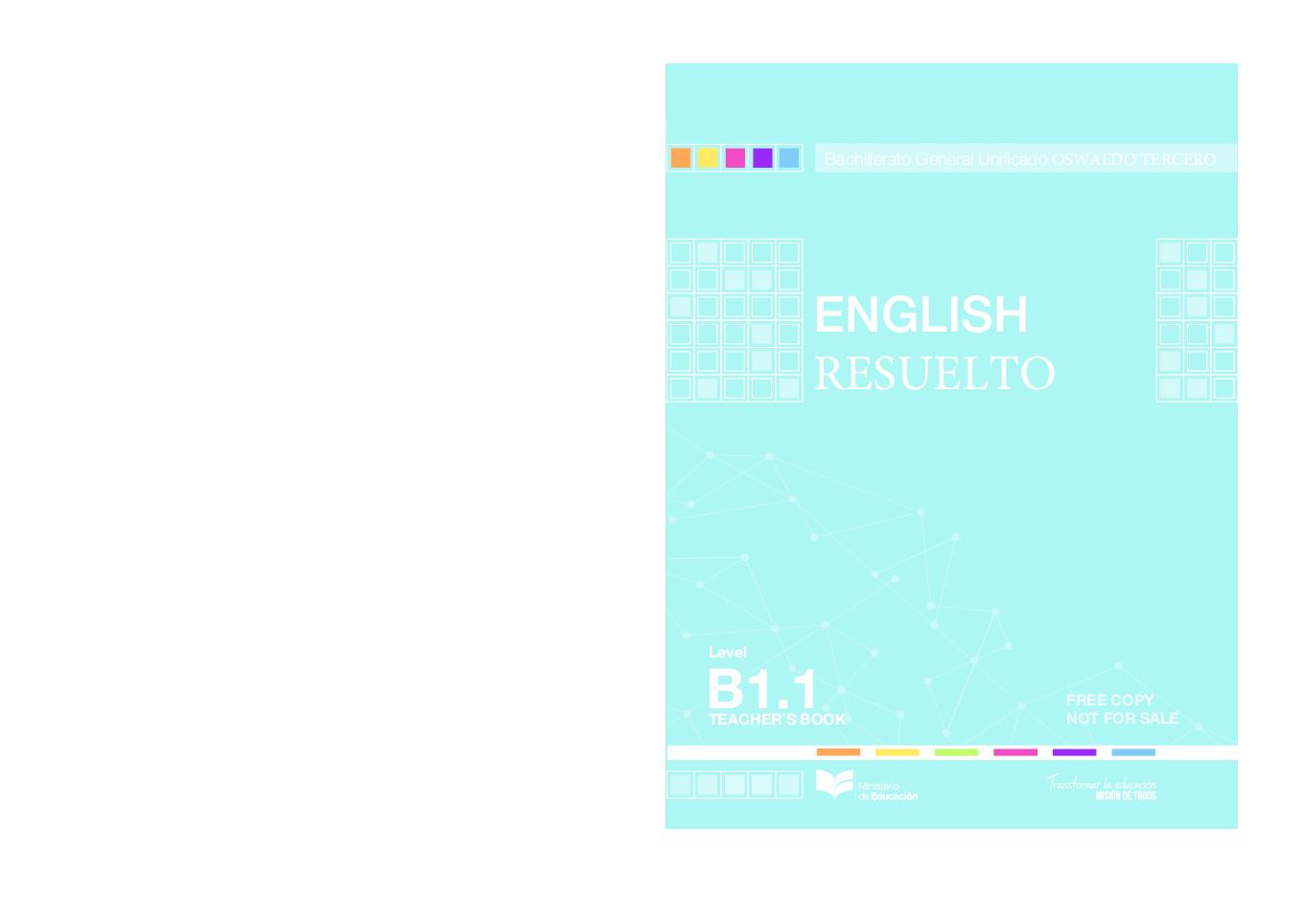 Pdf Solucionario English B1 3 De Bachillerato 1 Jean Marce Academia Edu