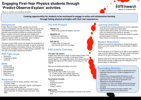 PDF) Engaging First-Year Physics students through 'Predict