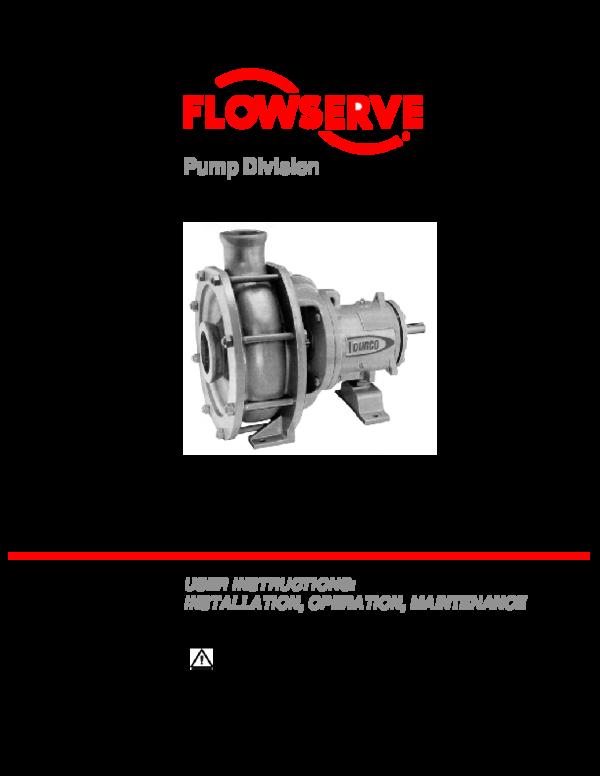 PDF) Pump Division Mark 3 High Silicon Iron Pumps | Luis