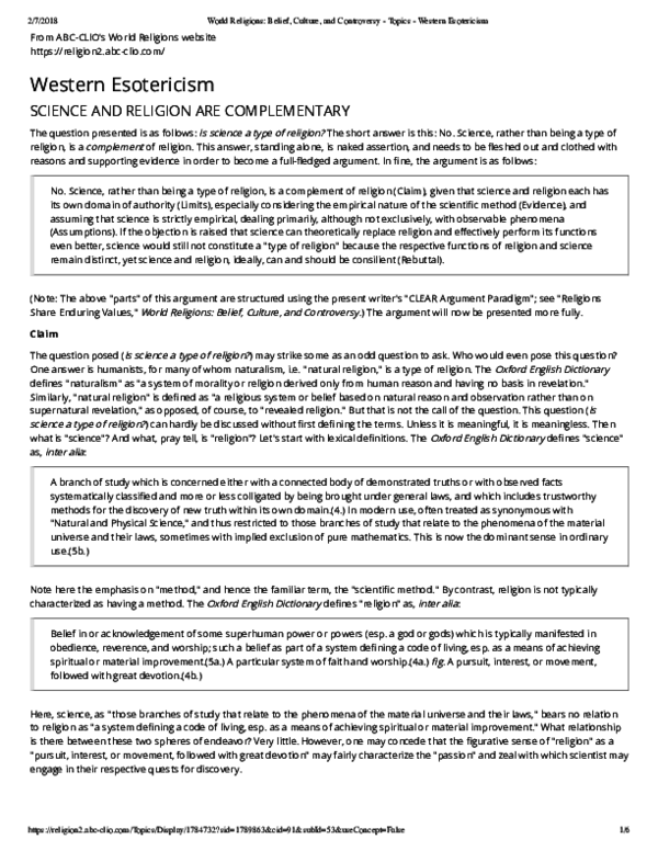 Argumentative essay on religion vs science top assignment writers service gb