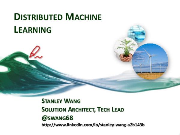PDF) DISTRIBUTED MACHINE LEARNING STANLEY WANG SOLUTION