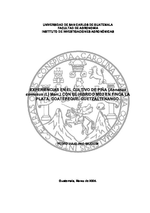 (PDF) UNIVERSIDAD DE SAN CARLOS DE GUATEMALA FACULTAD DE