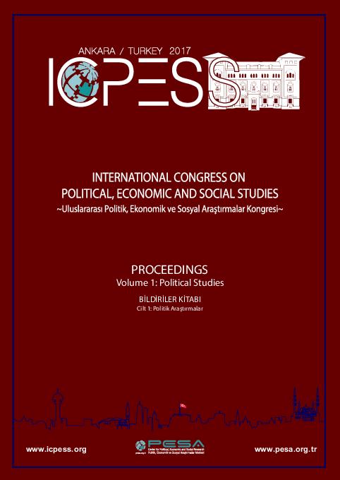 Pdf Proceedings Volume 1 Pollttcal Studdes Bildiriler Kitabi Cclt