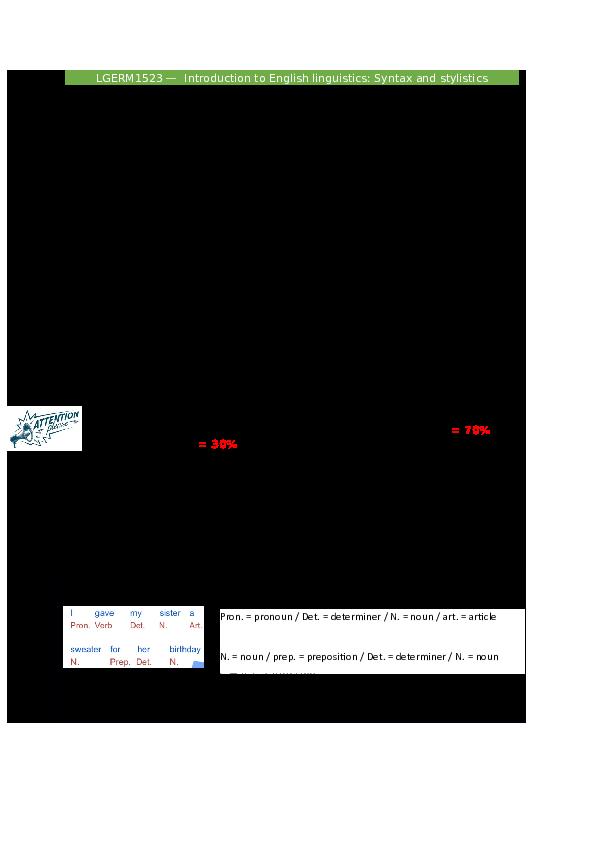 DOC) Syntax and Stylistics | ulrike sinap - Academia edu